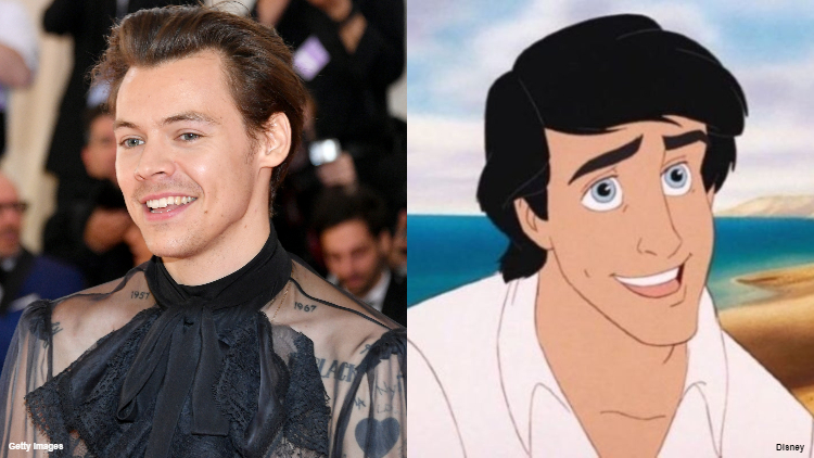 Harry Styles Spills the Tea on Why He Passed on Prince Eric Role