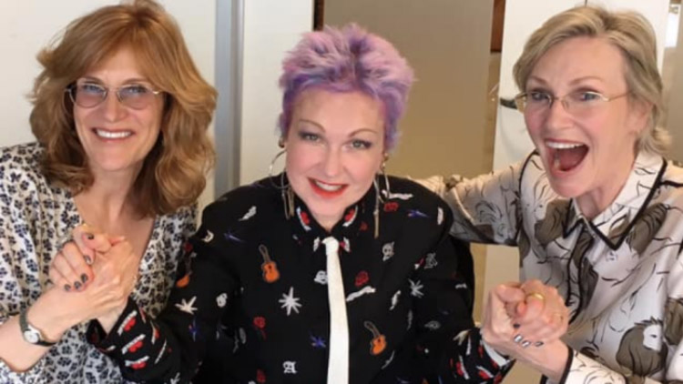 Jane Lynch and Cyndi Lauper are Making a 'Golden Girls For Today'