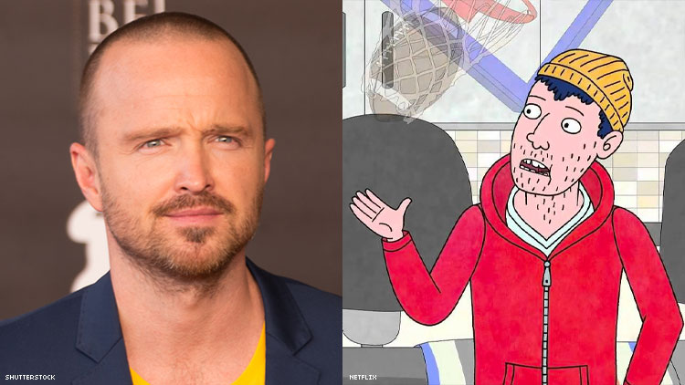 Aaron Paul Is 'Proud' of His Asexual Character on 'BoJack Horseman'