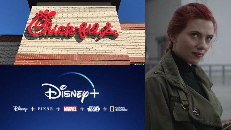 More 'Black Widow' Movies, Disney+, & Chick-fil-A UK: Morning Tea