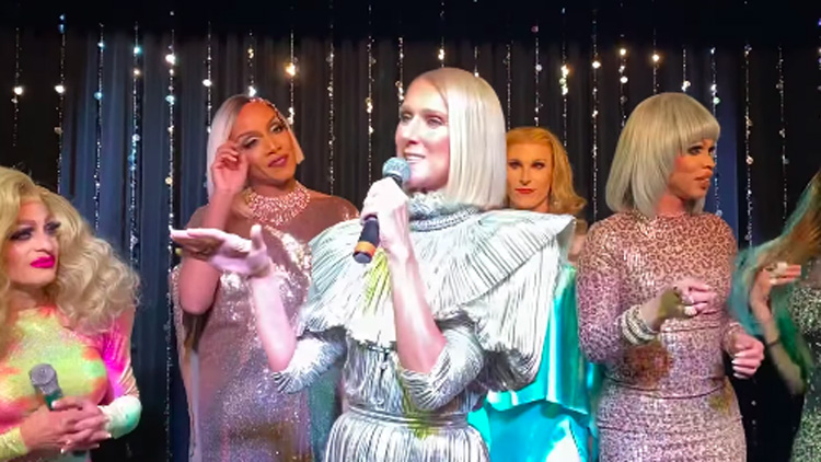 Céline Dion Surprised Fans With Karaoke of Her Own Music at Drag Bar