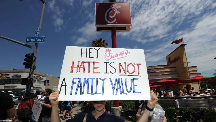 Chick-fil-A pulls funding for Christian groups criticised for LGBT stance