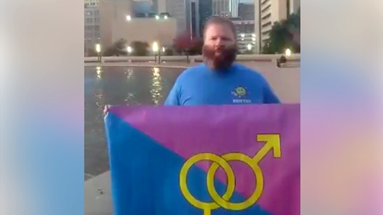 Literally Two People Showed Up to Dallas Straight Pride Event