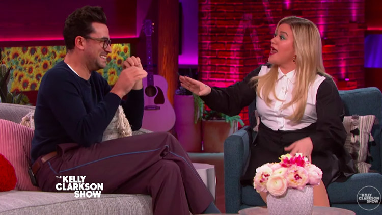 Kelly Clarkson Shares Amazing Old Interview With Dan Levy