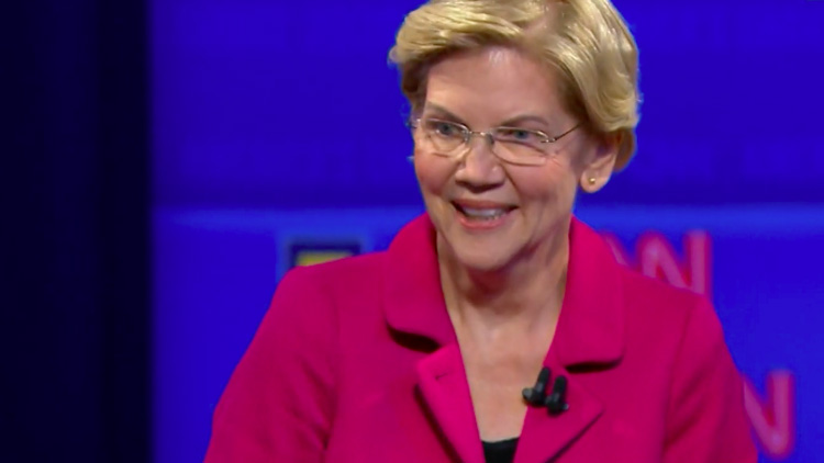 Elizabeth Warren Had the Best Comeback to Someone Against Gay Marriage