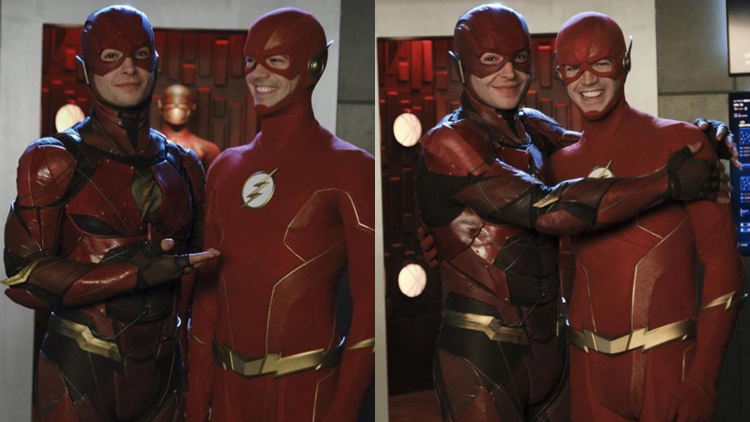 Ezra Miller's 'Arrowverse' Cameo Has DC Stans Freaking Out
