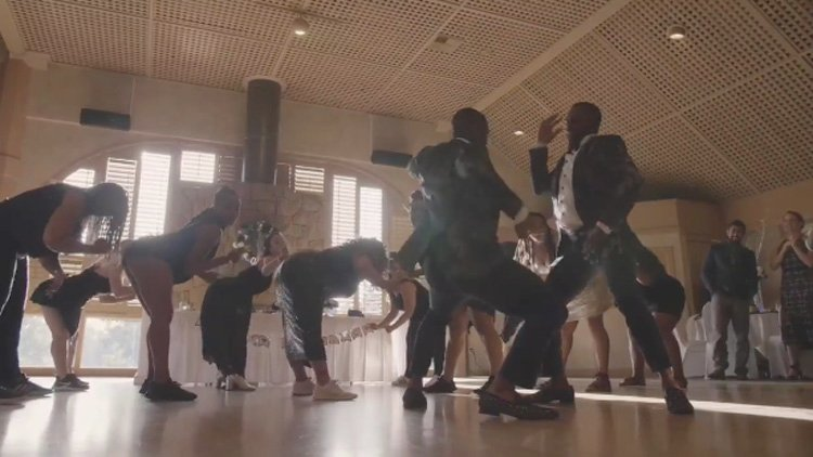 These Two Grooms Slayed Their Wedding With a Beyoncé Dance Routine