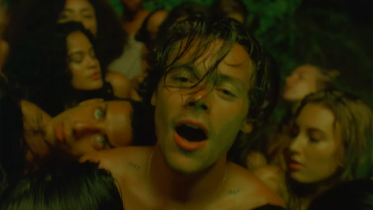 Harry Styles New Music Video Is A Sexy Queer Celebration