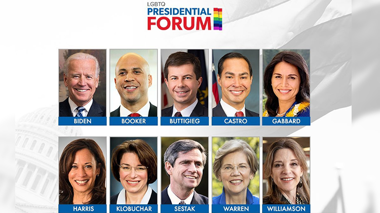 Here's Where You Can Watch the LGBTQ Presidential Forum