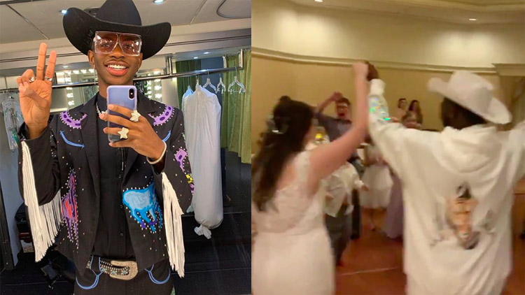 Lil Nas X Crashed a Wedding at Disney World, Danced to 'Old Town Road'