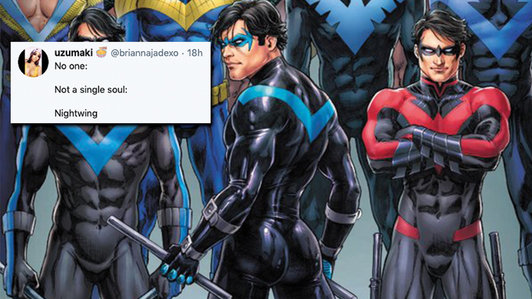 The Internet Can't Get Enough of Nightwing's Ass