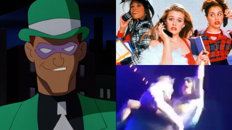 A New Riddler, Gritty 'Clueless,' & Gaga's On-Stage Fall: Morning Tea
