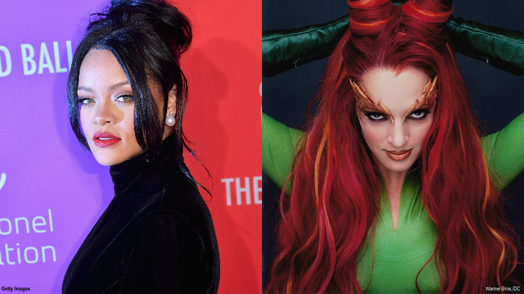 Okay, We NEED to See Rihanna Play Poison Ivy in 'The Batman'