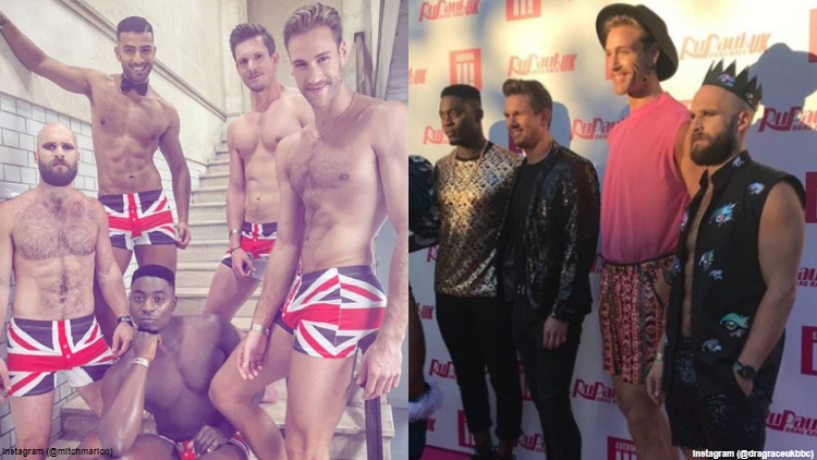Time to Thirst Follow the 'Drag Race UK' Brit Crew Guys on Instagram