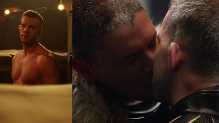 Russell Tovey Reminisces About the Arrowverse & His Historic Gay Kiss