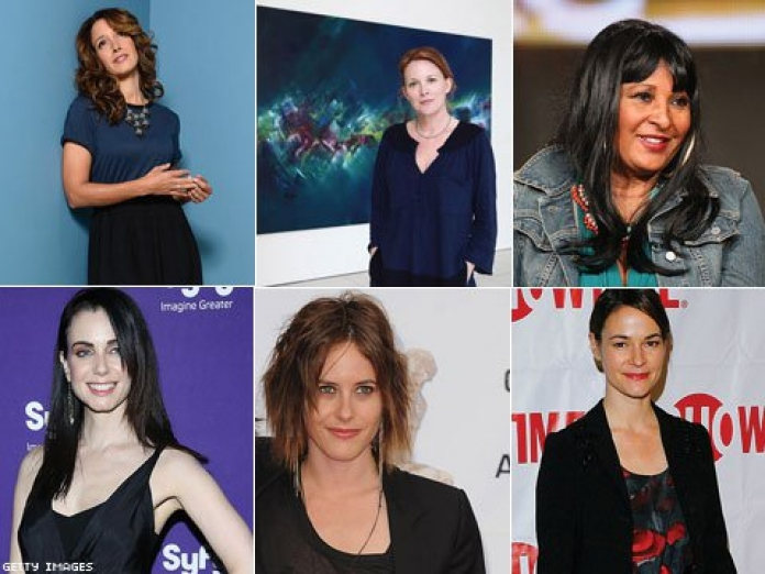 Lesbian actresses the l word