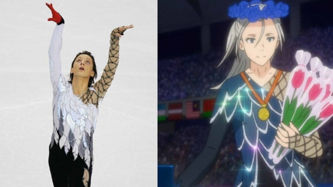 Victor and Johnny Weir