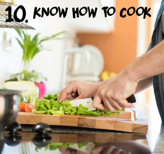 10. Know how to cook