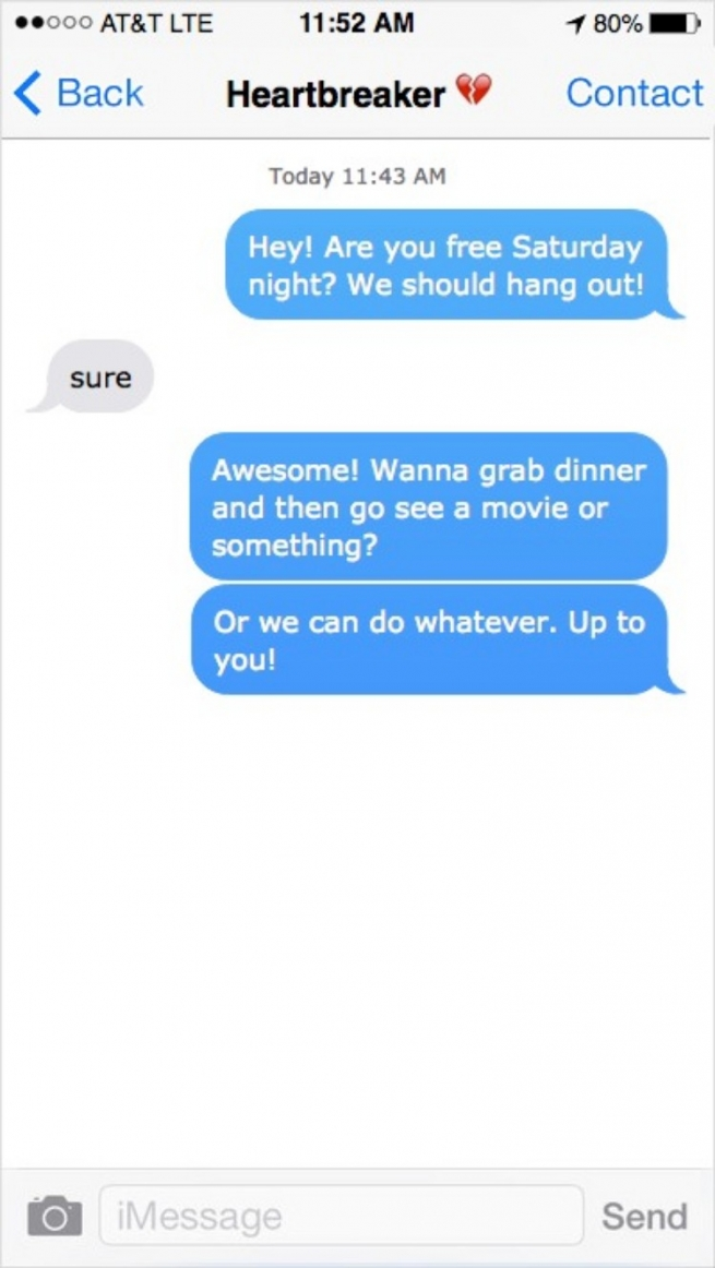 dating and texting etiquette