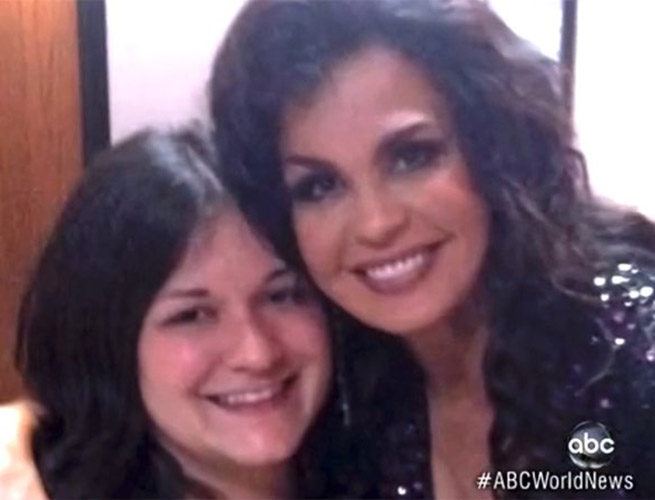 Marie Osmond and Jessica Blosil