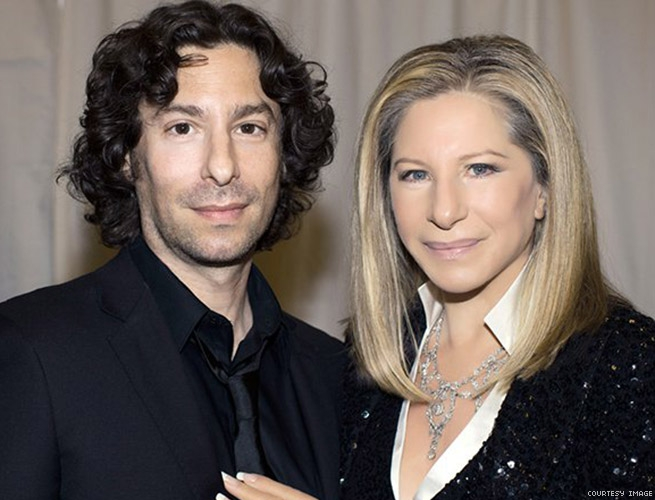Barbra Streisand and Jason Gould