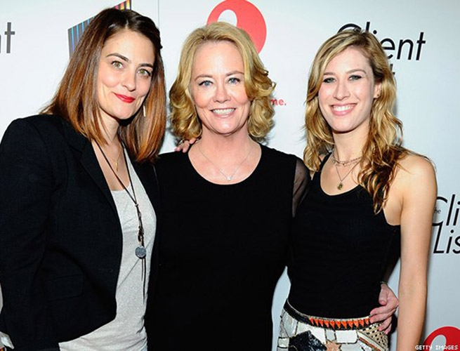 Cybill Shepherd, Clementine Ford, and Ariel Oppehnheim