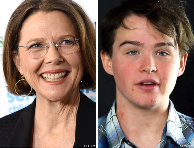 Annette Bening and Stephen Beatty