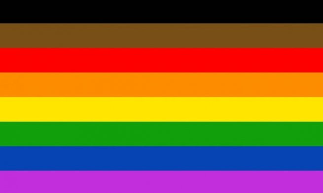 Push to add black and brown stripes to rainbow flag sparks ...