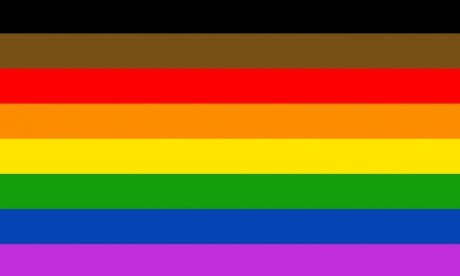 Philadelphia People Of Color Flag