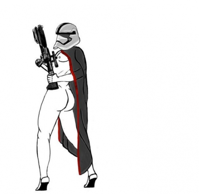 We're Obsessed With These Sexy Storm Trooper Illustrations