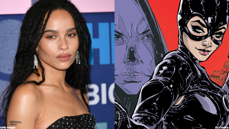 Zoë Kravitz Is Our New Catwoman in 'The Batman'